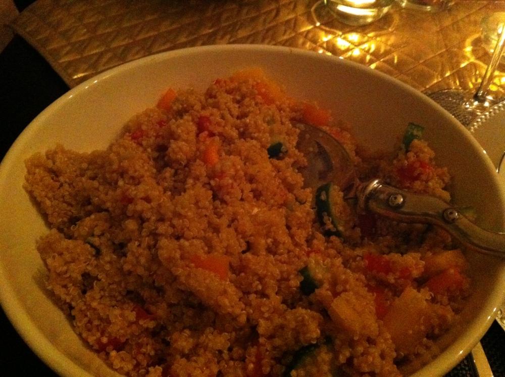 Vegan Quiona Salad