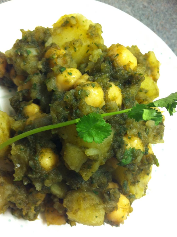 Zazzy Afghan Potato Salad