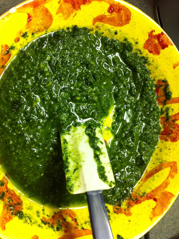 Kale & Arugula Pesto