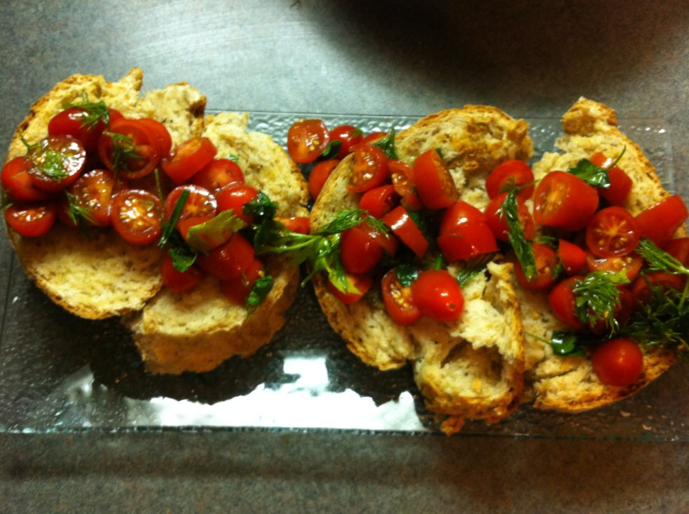 Vegan Bruschetta