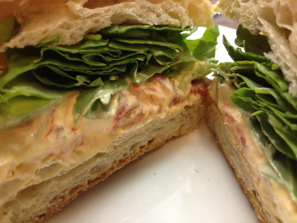 Vegan Seafood Sandwich
