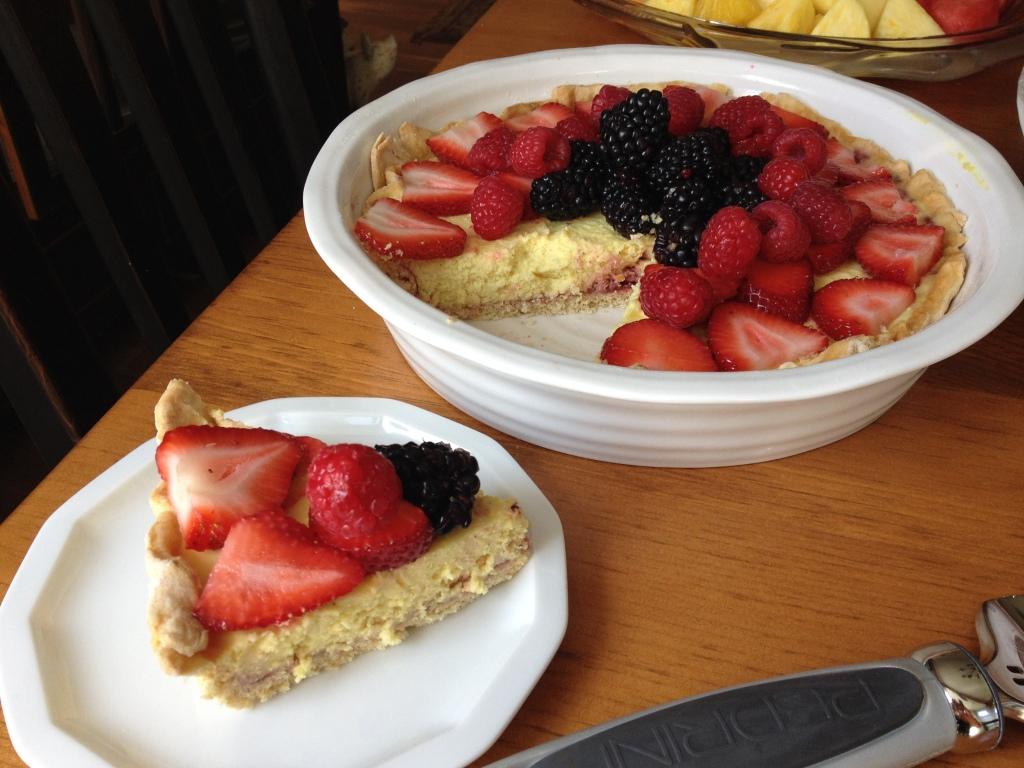 Vegan Fruit Tart