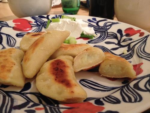 Sweet Potato Oregano Perogies