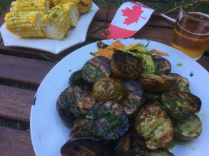 Canada Day Grilling