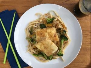 Vegan Beer Chow Mein & Tofu
